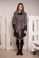 Демисезонное пальто для девочки -подростка, размеры 38, 40, 42. (арт.К-103)