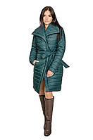 Зимняя куртка женская Севилья (зеленый)