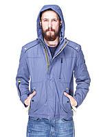 Куртка мужская демисезонная с капюшоном