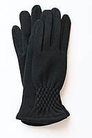 Перчатки молодежные с косой  красивой сборкой