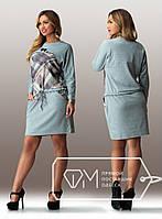 Модное женское платье больших размеров с 50 по 58 размер