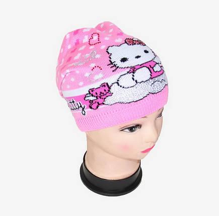Детская шапка со стразами (Арт. WD1440), фото 2