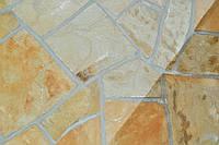 Колотый рваный камень песчаник