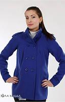 Пальто демисезонное для беременных Mirta электрик - S, M, L