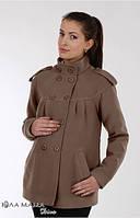 Пальто демисезонное для беременных Mirta кофе - С, М