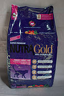 Сухой корм для котов Nutra Gold (Нутра Голд) Finicky Adult Cat 18.14 кг