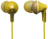 Наушники вакумные PANASONIC RP-HJE125E-Y желтый