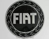 Антискользящий силиконовый коврик на торпедо с логотипом Fiat