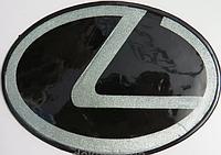 Антискользящий силиконовый коврик на торпедо с логотипом Lexus