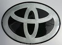 Антискользящий силиконовый коврик на торпедо с логотипом Toyota