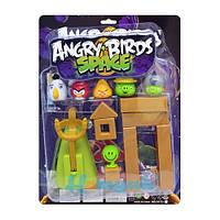 """Настольная игра с катапультой/рогаткой Angry Birds Space """"Космос"""""""