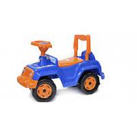 Машинка-каталка толокар Трактор  син. 549