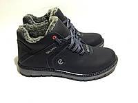 Мужские  зимние кожаные ботинки Ecco Lorandy