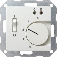 Терморегулятор с датчиком температуры пола GIRA System 55 белый - 039403