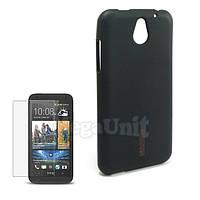 Capdase Силиконовый чехол (+пленка) для HTC Desire 610