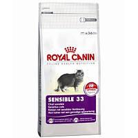Сухой корм для кошек Royal Canin Sensible 33 - 2 кг