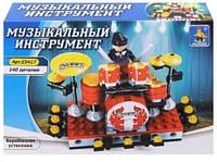 Конструктор AUSINI Барабанная установка 25417, 140 деталей
