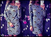 Платье мишки