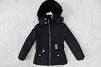 Демисезонная куртка ( Синтепон- мех) 4 года