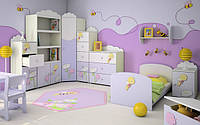 """Детская мебель Коллекция «Пчелка»,""""Египет», «Авто», «Мир Дино», подробнее в Фотогалерее."""