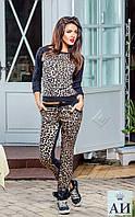 "Костюм для прогулок ""Леопард"".Два цвета"