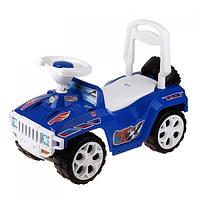 Детская машинка-каталка толокар Ориончик син. 419