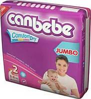 Подгузники CANBEBE Comfort dry JUMBO mini №2 (3-6кг), 40шт