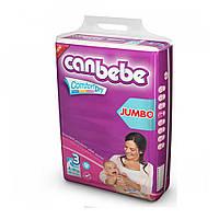 Подгузники CANBEBE Comfort dry JUMBO midi №3 (4-9кг), 36шт