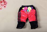 Детские теплые штаны для девочек