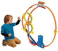 Трек Hot Wheels Хот Вилс Гонки в мертвой петле( Super Loop Chase Race Trackset)  Mattel