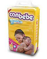 Подгузники CANBEBE Comfort dry NEWBORN (2-5кг), 48шт