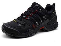 Кроссовки Adidas Terrex, мужские, кожаные (копия), фото 1