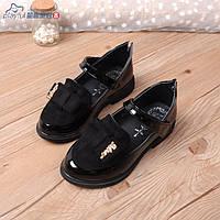 Туфли для девочки черные лаковые