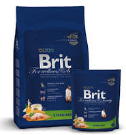 Сухой корм для кошек Brit Premium Cat Sterilized 0,8 кг