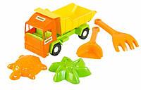 Грузовик с набором для песка Wader Mini Truck 39157 5 элементов