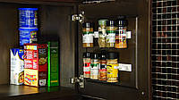 Универсальный кухонный органайзер Clip n Store для шкафов и холодильников (на 20 позиций), фото 1