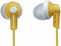 Наушники вакумные PANASONIC RP-HJE118GU-Y желтый