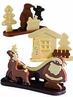 Набор с 3-х форм для шоколада Рождество Martellato 20-S1010