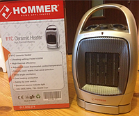 Керамический обогреватель Hommer, тепловентилятор с поворотным механизмом, экономичный обогреватель