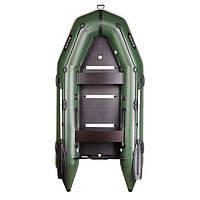 Трехместная моторная надувная лодка Bark (Барк) BT 310S (с жестким дном и надувным кильсоном)