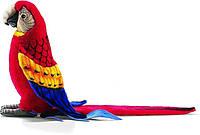 Мягкая игрушка попугай ара красный HANSA 72 см