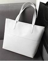 Молодежная сумка-шоппер. Стильная сумка. Женская сумка. Недорогая сумка. Интернет магазин. PU кожа. Код: КЕ81