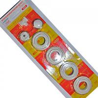 Комплект подключений для алюминиевых радиаторов 1/2 (уп) ААА с кронштейном