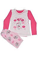 Детская пижама для девочки Фламинго 245-222 (интерлок)