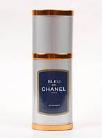 Мини-парфюм Флакон 40мл. Мужская туалетная вода Chanel Bleu de Chanel (элегантный древесно-цитр.ар.) SML /25