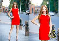 Женское красивое платье с вырезом на спинке (4 цвета)