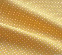 Ткань для домашнего текстиля горох Желтый