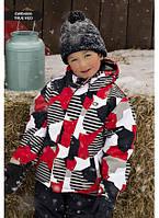 Зимняя куртка для мальчика Gusti Boutique GWB 4600-1. Размер 116.