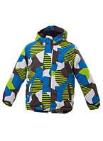Зимняя куртка для мальчика Gusti Boutique GWB 4600-1 LIME GREEN. Размер 116.