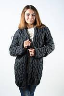 Модный кардиган, Хит сезона! темно-серый р.46-48-50